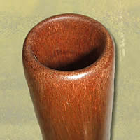 Mouthpiece of a didgeridoo